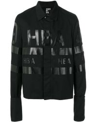 Hood By Air - Chaqueta con logo estampado - Lyst