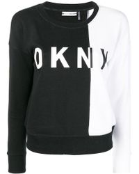 DKNY - Logo Sweatshirt - Lyst