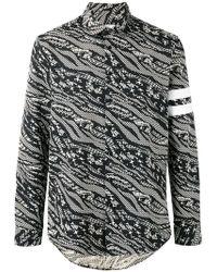 Les Benjamins - Abstract Print Shirt - Lyst
