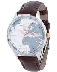Cerruti 1881 - World Map Dial Watch - Lyst