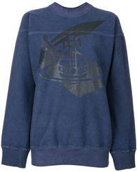 Vivienne Westwood Anglomania - Printed Sweatshirt - Lyst
