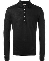 Massimo Alba - Long Sleeved Polo Shirt - Lyst