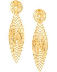 Gas Bijoux - 'longwave' Small Size Earrings - Lyst