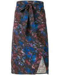 Murmur - Asymmetric Draped Skirt - Lyst