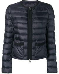 Moncler - Cropped Puffer Jacket - Lyst