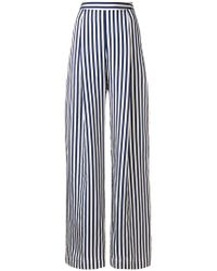 L'Autre Chose | High-waisted Striped Wide Leg Trousers | Lyst