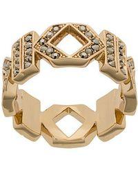 Karl Lagerfeld - Double K Ring - Lyst