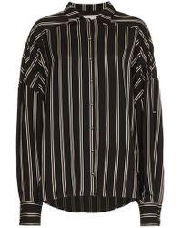 Esteban Cortazar - Oversized Striped Shirt - Lyst