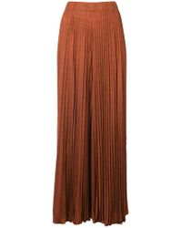 Elizabeth and James - Pleated Midi Trousers - Lyst