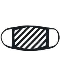 Off-White c/o Virgil Abloh - Striped Mask - Lyst