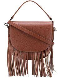 Fabiana Filippi - Textured Fringed Tote Bag - Lyst