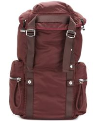 Diesel Black Gold - Buckle Strap Backpack - Lyst