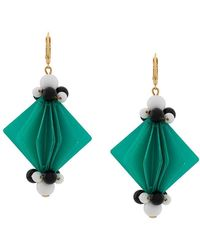 Marni - Bead And Facet Earrings - Lyst