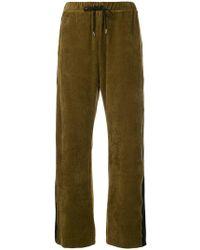 G.v.g.v - Corduroy Track Trousers - Lyst