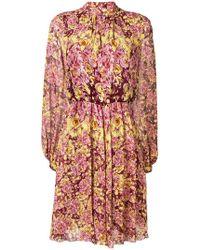 Giambattista Valli - Floral Short Dress - Lyst