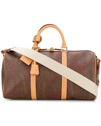Etro - Paisley Print Holdall - Lyst