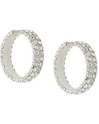 Magda Butrym - Medium Embellished Hoop Earrings - Lyst