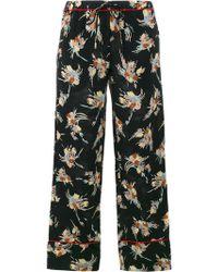 Marni - Floral Print Pyjama Trousers - Lyst