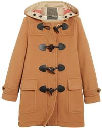 Burberry - The Mersey Duffle Coat - Lyst