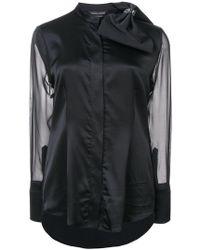 Thomas Wylde - Bow Embellished Shirt - Lyst