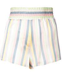 Morgan Lane - Corey Striped Shorts - Lyst