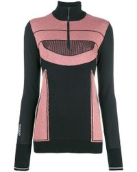 adidas By Stella McCartney - Zipped Front Knit Jumper - Lyst