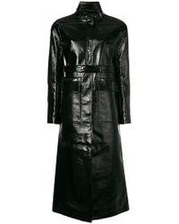 Courreges - Long Varnished Coat - Lyst