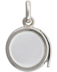 Loquet London - Small Round Locket - Lyst