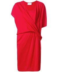 Reality Studio - Knotted T-shirt Dress - Lyst