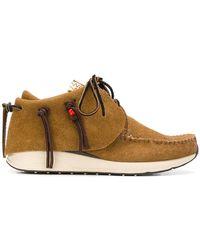 Visvim - Fringed Short Boots - Lyst