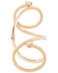 Delfina Delettrez - 'handroid' Diamond Ring - Lyst