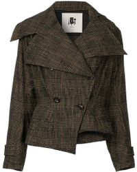 Aganovich - Fitted Double-breasted Jacket - Lyst
