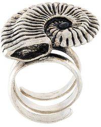 Midgard Paris - Fossil Ring - Lyst