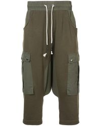 Mostly Heard Rarely Seen - Drop Crotch Cargo Hybrid Trousers - Lyst