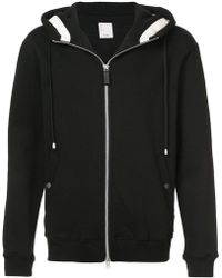 Cy Choi - Zip-up Hooded Sweatshirt - Lyst
