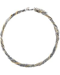 Iosselliani - 'silver Heritage' Tangled Necklace - Lyst