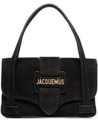 Jacquemus - Black Le Sac Minho Nubuck Leather Mini Bag - Lyst