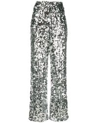 MM6 by Maison Martin Margiela - Sequin-embellished Tulle Trousers - Lyst