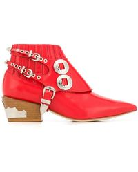 Toga Pulla - Stacked Heel Boots - Lyst