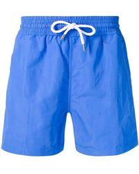Frescobol Carioca - Plain Swim Shorts - Lyst