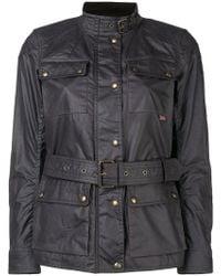 Belstaff - Belted Lightweight Jacket - Lyst