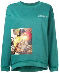 Au Jour Le Jour - Caravaggio Print Sweatshirt - Lyst