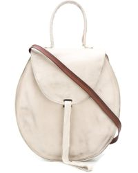 Cherevichkiotvichki   Bandage Closure Circular Bag   Lyst