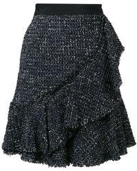 Karl Lagerfeld - Sparkle Bouclé Skirt - Lyst