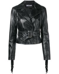 Just Cavalli - Cropped Western Style Jacket - Lyst