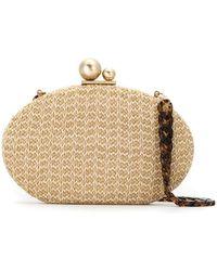 Isla - Glitter Clutch Bag - Lyst