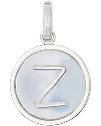Burberry - Marbled Resin 'z' Alphabet Charm - Lyst
