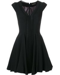 Plein Sud - V-neck Fitted Dress - Lyst