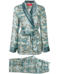 F.R.S For Restless Sleepers - Printed Eirene Suit - Lyst