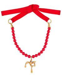 Valentino - Garavani Beaded Necklace - Lyst